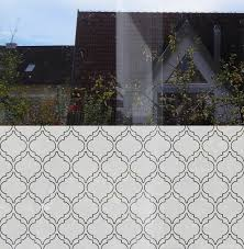 Decorative Window Decals For Home Moroccan Window Film Decorative Window Film By Musterladen This