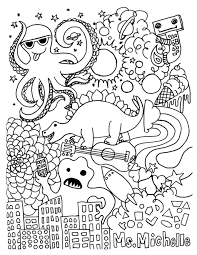 coloring pages for grade 4 kids drawing and coloring pages