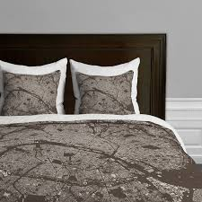 Original Duvet Covers Paris Antique Duvet Cover Brown King Cityfabric Inc By Deny