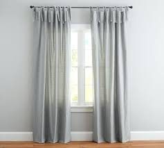 Tie Top Curtains Curtains 100 Length Attractive Tie Top Curtains And Tie Top
