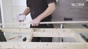 how to fit wren kitchen base units wren kitchens infinity plinth installation