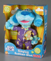 Singing Stuffed Animals 106 1612 Singing Bedtime Blue Stuffed Animal Teddy Bears And