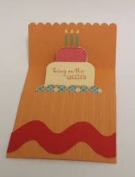 birthday cake pop up card video tutorial confessions of a