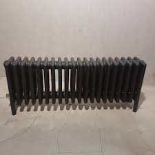 Radiateur Electrique Style Retro Vuelta Plinthe 1000w Sans Régulation Noir Mat 0557