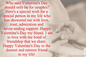 who said s day should only valentines day message for