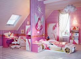 interesting design of the girls room with closet that has barbie