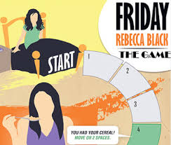 friday rebecca black friday rebecca black the game