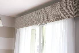 omh cornice box help and the sliding glass window treatment trick