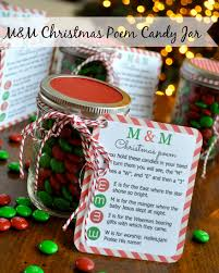 thanksgiving and christmas crafts m u0026m christmas poem candy jar tutorial simple sojourns