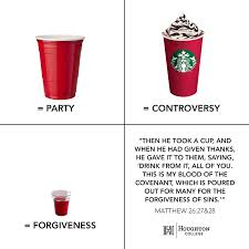 Red Solo Cup Meme - houghton college s meme on starbucks controversy goes viral