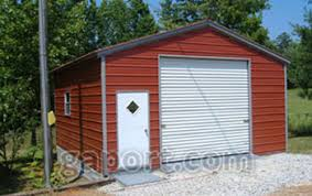 in a garage metal garages steel buildings steel garage plans