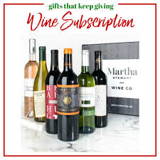 wine subscription gift gifts that keep giving