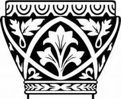 byzantine a classic columns decorative ornaments decals