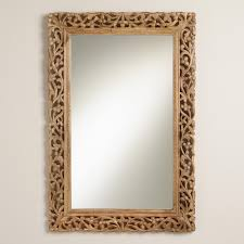 How To Put A Frame Around A Bathroom Mirror by Large Mirrors And Leaning Floor Mirrors World Market