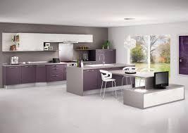 cuisine moderne noir et blanc deco cuisine gris et blanc luxe decoration cuisine originale