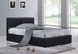 storage beds birlea berlin faux leather ottoman bed frame