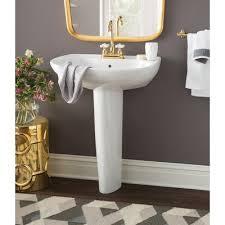 Kohler Pedestal Bathroom Sinks Toto Prominence 26