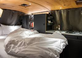 volkswagen camper inside tricked out micro home built inside volkswagen van curbed