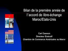 chambre de commerce du maroc carl dawson directeur exécutif chambre de commerce américaine au