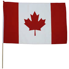 Canada Flag Colors Canada Stick Flags Canada Paper Flags Canadian Table Flags