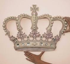 crown decor princess wall crown love this for macy s room kid s room