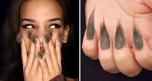 furry nails are the new trend that u0027s invading girls u0027 fingers