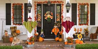 outdoor fall decorations fall outdoor decorations party city
