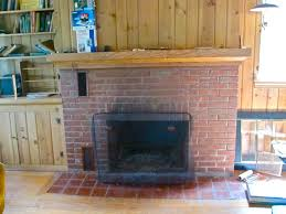 whitewashed fireplace the lion u0027s den