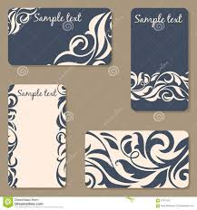 Business Invitation Cards Business Creative Invitation Cards Template Beauty Stock Vector
