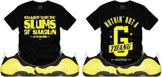 Wu Tang Socks Nike Air Foamposite One