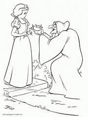 disney villains coloring pages kids