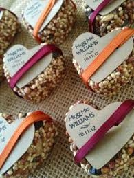 bird seed wedding favors birdseed wedding favor hearts easy and inexpensive diy cookie