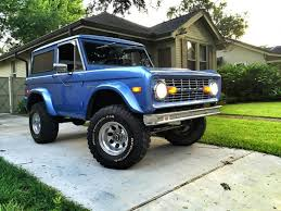 modified 1976 ford bronco custom offroad for sale