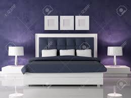 White And Dark Blue Bedroom Fashio White And Navy Blue Bedroom Against Dark Purple Stucco