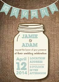 jar wedding invitations country wedding invitations with jars elite wedding looks