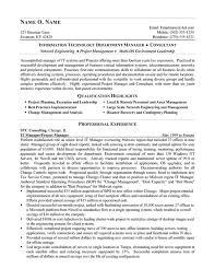 consulting resume exles it consultant resume exle