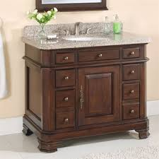 lanza wf6498 42 dc bathroom vanity 42 single sink vanity with mirror