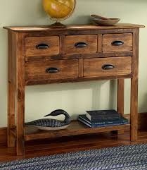 Entryway Table With Drawers Rustic Entryway Table With Drawers