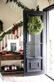 Home Decor For Fall - front door wreaths with initials black glass ideas paint at home