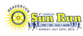 sunrun logo 2016 beaverton sun run 5k race results
