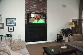 Mounting A Tv Over A Gas Fireplace by How Should I Run Wiring For My Above Fireplace Mounted Tv Home