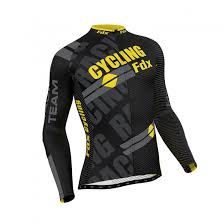 thermal cycling jacket fdx mens pro cycling jersey full sleeve racing top cold wear thermal