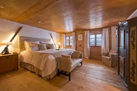 Bedroom Side View by Chalet 1597 Lech U2022 Alpine Guru