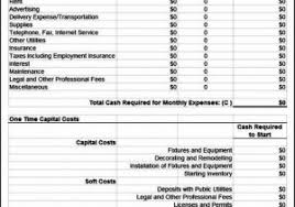 business expense template free expense template for small business