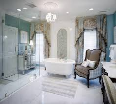 luxury bathroom window curtains ideas with patterns