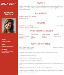 Resume Templates Online Free Build Your Resume