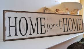 home sweet home wall art interior design