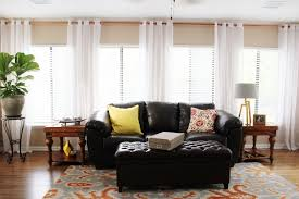 Hanging Curtains From Ceiling To Floor by Drab To Fab Design Transforming Our 1960 U0027s Rancher From Drab To