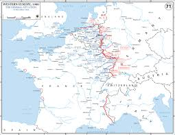 Europe On World Map by Map Of Wwii Western Europe On Dec 15 1944