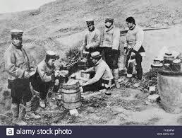 russo japanese war 1904 1905 japanese field kitchen in sandepu